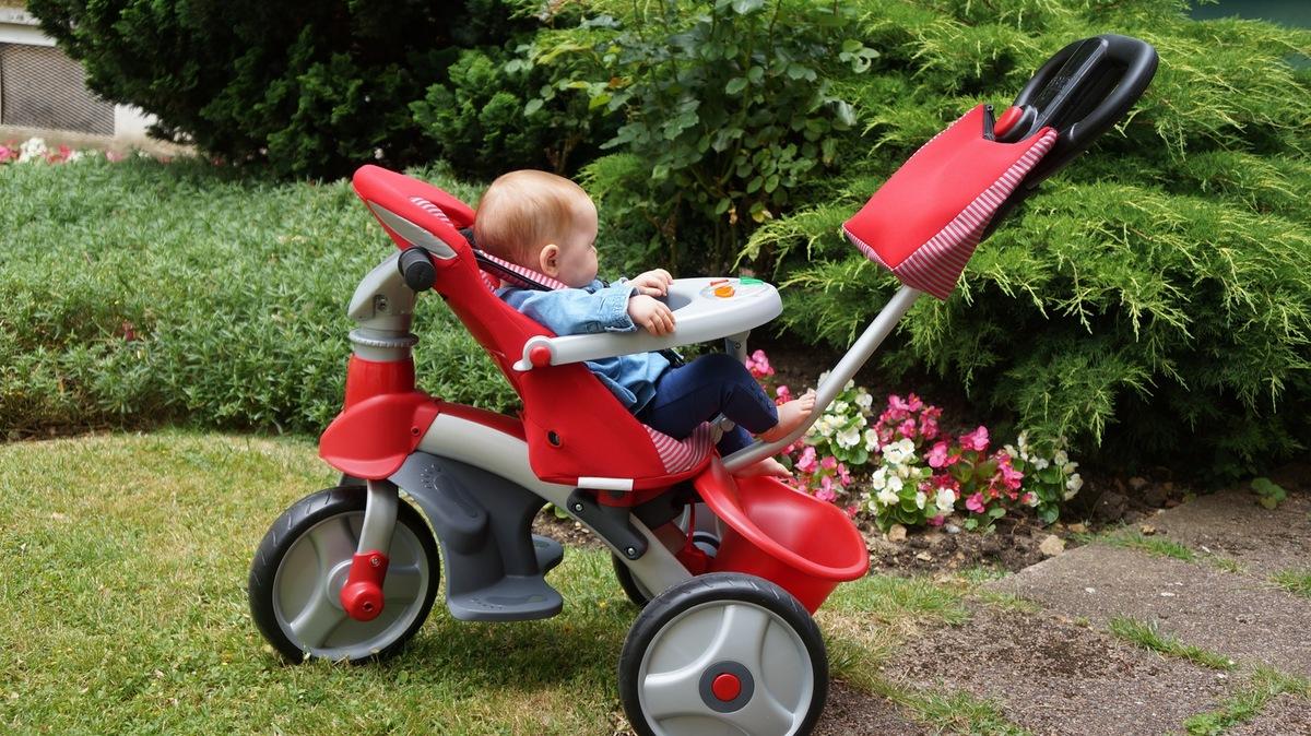 Les meilleurs tricycles pour bébé